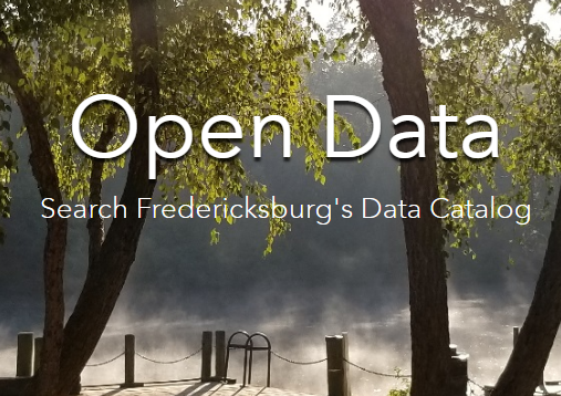 Click here to access the City's Open Data Hub