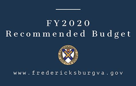 FY2020 Recommended budget news