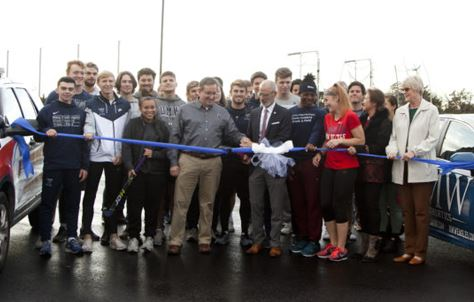 umw-city-ribbon-cutting-UMW-parking-lot