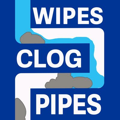 Wipes-Clog-Pipes